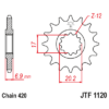 Kép 1/2 - JTF1120.11_JTF1120-11_JT_aprilia_betamotor_cpi_fantic_jtsprocket