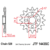 Kép 1/2 - JTF1443SC.13_JTF1443-13SC_JT_suzuki_rmz450_jtsprocket