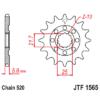 Kép 1/2 - JTF1565.13_JTF1565-13_JT_kawasaki_kx450f_jtsprocket