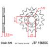 Kép 1/2 - JTF1565SC.13_JTF1565-13SC_JT_kawasaki_kx450f_jtsprocket