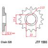 Kép 1/2 - JTF1593.14_JTF1593-14_JT_yamaha_yfm250_jtsprocket
