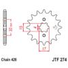Kép 1/2 - JTF274.14_JTF274-14_JT_honda_crf100_xr100_jtsprocket