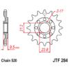 Kép 1/2 - JTF284.12_JTF284-12_JT_honda_trx450_cr250_crf450_jtsprocket