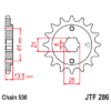 Kép 1/2 - JTF286.15_JTF286-15_JT_honda_cbr400_vf400_vf500_jtsprocket