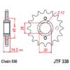 Kép 1/2 - JTF339.15_JTF339-15_JT_honda_cbr750_jtsprocket