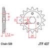 Kép 1/2 - JTF437.15_JTF437-15_JT_suzuki_dr600_jtsprocket