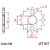 Kép 1/2 - JTF517RB.17_JTF517-17RB_JT_kawasaki_jtsprocket