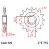 Kép 1/2 - JTF715.13_JTF715-13_JT_gasgas_jtsprocket