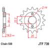 Kép 1/2 - JTF739.15_JTF739-15_JT_cagiva_jtsprocket