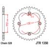 Kép 1/2 - JTR1350.39_JTR1350-39_JT_honda_trx_jtsprocket