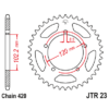 Kép 1/2 - JTR23.16_JTR23-16_JT_aprilia_jtsprocket