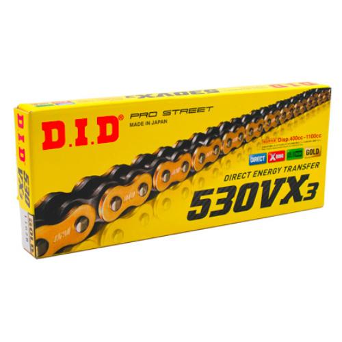 D.I.D 530VX3 122L GOLD