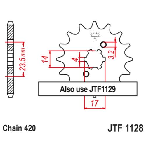 JTF1127,15_JTF1127-15_jtsprocket