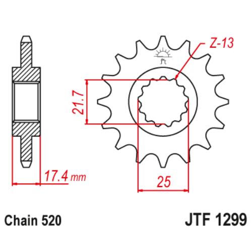 JTF1299.14_JTF1299-14_JT_honda_cb250_vt250_vtr250_jtsprocket