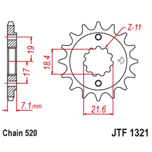 JTF1321.13_JTF1321-13_JT_honda_crf250_xr250_cbf250_jtsprocket