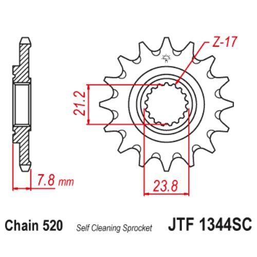 JTF1344SC.13_JTF1344-13SC_JT_honda_crf250r_jtsprocket