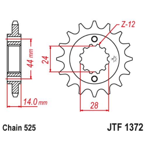 JTF1372.17_JTF1372-17_honda_vlx750_vt750_JT_jtsprocket