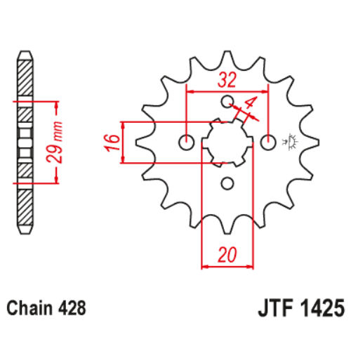 JTF425.15_JTF425-15_JT_jtsprocket
