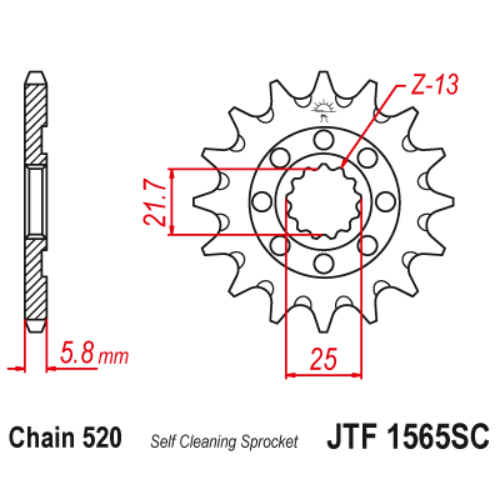 JTF1565SC.13_JTF1565-13SC_JT_kawasaki_kx450f_jtsprocket
