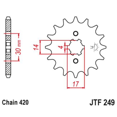 JTF249.15_JTF249-15_JT_honda_kawasaki_jtsprocket