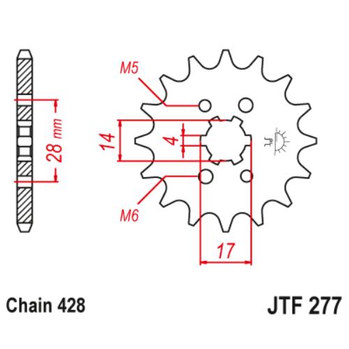 JTF277.13_JTF277-13_JT_honda_trx90_crf125_jtsprocket