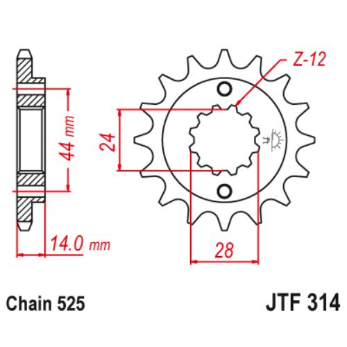 JTF314.16_JTF314-16_JT_honda_xrv750_africatwin_jtsprocket