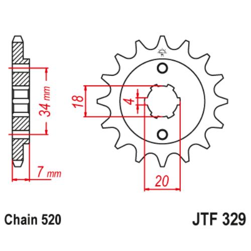 JTF329.13_JTF329-13_JT_honda_tlm200_mbx125_ns125_jtsprocket