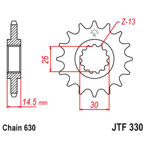 JTF330.15_JTF330-15_JT_honda_cb750_jtsprocket