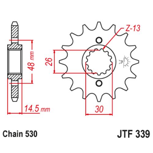 JTF339RB.16_JTF339-16RB_JT_honda_vf700f_cb750_vfr750_vfr800_jtsprocket
