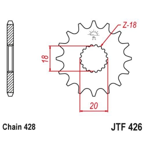 JTF426.15_JTF426-15_JT_kreidler_jtsprocket