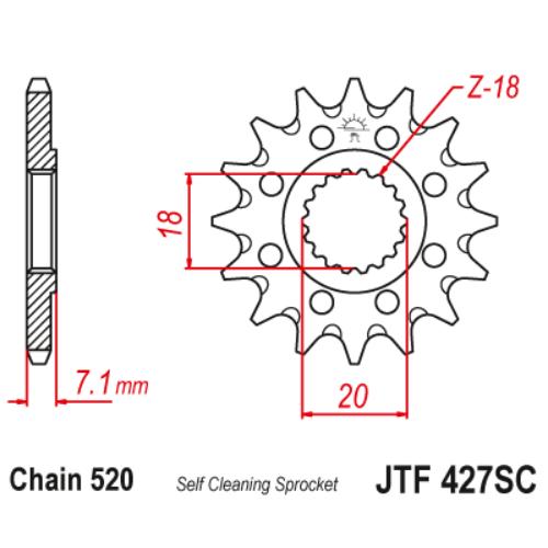JTF427SC.13_JTF427-13SC_JT_suzuki_rm125_rmz250__jtsprocket