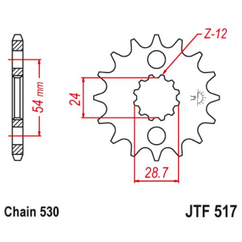 JTF517RB.17_JTF517-17RB_JT_kawasaki_jtsprocket
