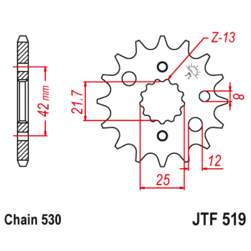 JTF519.17_JTF519-17_JT_suzuki_yamaha_jtsprocket