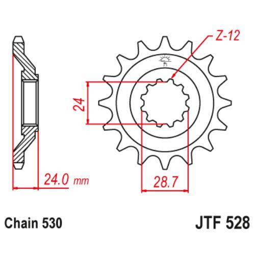 JTF528.17_JTF528-17_JT_kawasaki_jtsprocket