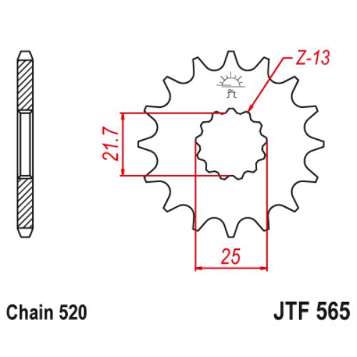 JTF565RB.15_JTF565-15RB_JT_kawasaki_suzuki_yamaha_jtsprocket