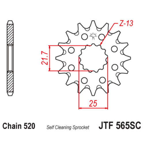 JTF565SC.14_JTF565-14SC_JT_kawasaki_suzuki_yamaha_jtsprocket