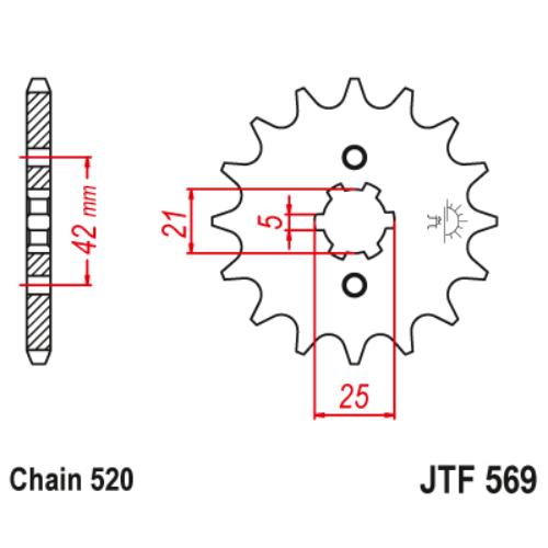 JTF569.12_JTF569-12_JT_yamaha_jtsprocket
