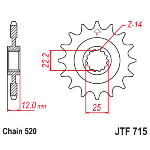 JTF715.13_JTF715-13_JT_gasgas_jtsprocket
