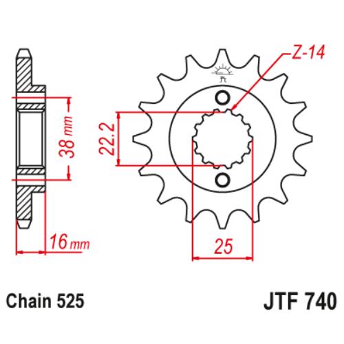 JTF740.15_JTF740-15_JT_ducati_jtsprocket