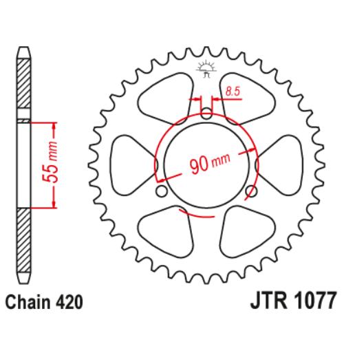 JTR1077.47_JTR1077-47_JT_rieju_jtsprocket
