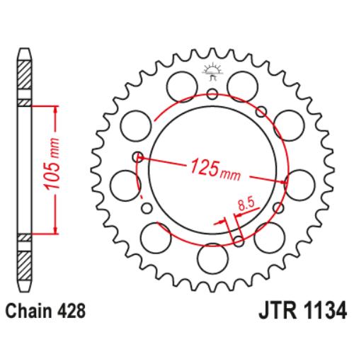 JTR1134.54_JTR1134-54_JT_derbi_motorhispania_jtsprocket