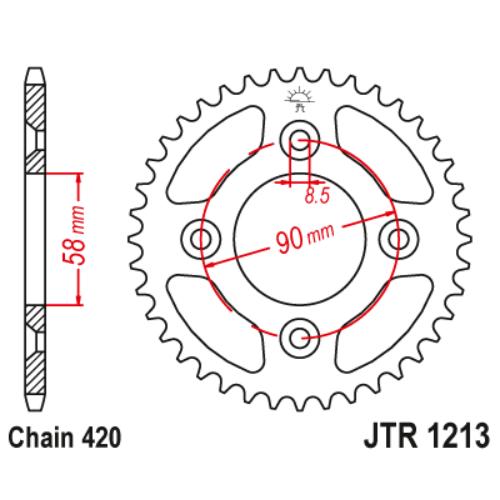 JTR1213.37_JTR1213-37_JT_honda_jtsprocket