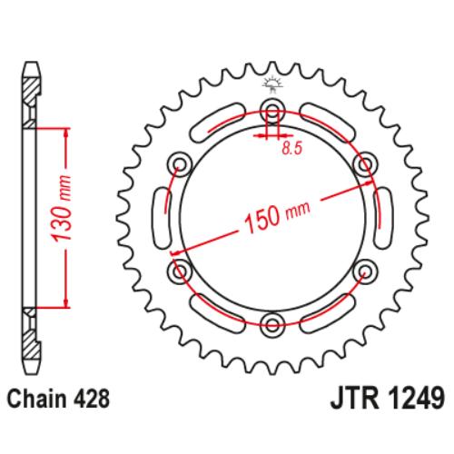 JTR1249.51_JTR1249-51_JT_honda_jtsprocket