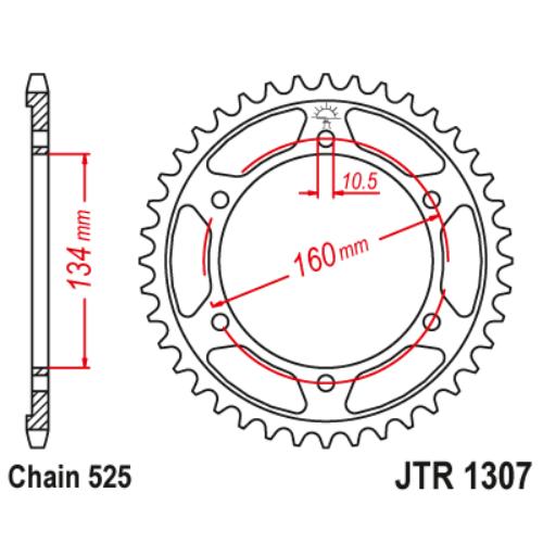 JTR1307.42_JTR1307-42_JT_honda_cbr600rr_jtsprocket